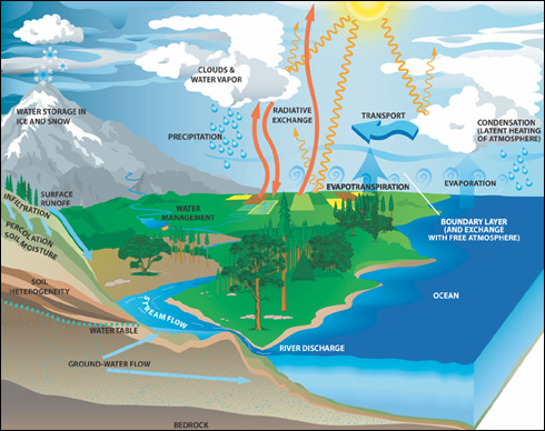 NASA Earth Science: Water Cycle | Precipitation Education