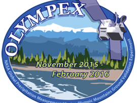 The Olympic Mountain Experiment, or OLYMPEX, is a NASA-led field campaign, which will take place on the Olympic Peninsula of Washington State from November 2015 through February 2016. The goal of the campaign is to collect detailed atmospheric measurements that will be used to evaluate how well rain-observing satellites measure rainfall and snowfall from space. In particular, OLYMPEX will be assessing satellite measurements made by the Global Precipitation Measurement (GPM) mission Core Observatory, a joint