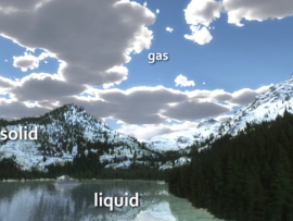 Screenshot from water cycle movie