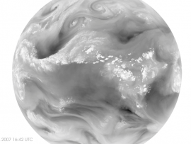 Screenshot from water vapor animation