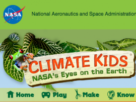 NASA climate Kids logo