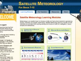 Satellite Meteorology Learning Modules