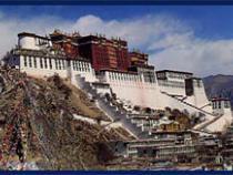 Palace on a high mountaintop