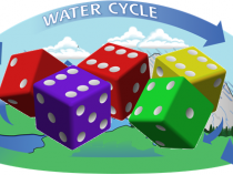 Water Cycle Dice Game