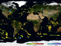 GPM's First Global Rainfall and Snowfall Map