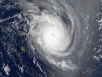 Satellite image of Hurricane Guillaume