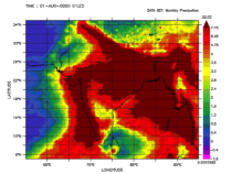 Observing Monsoon Weather Patterns with TRMM Data