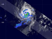 TRMM image of a tropical cyclone