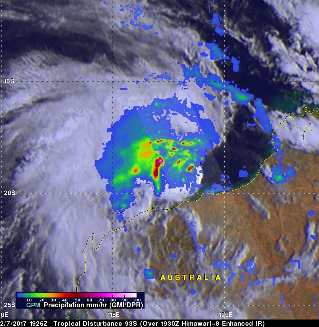 GPM Satellite Reveals Intensity Of Powerful Storms In The Timor