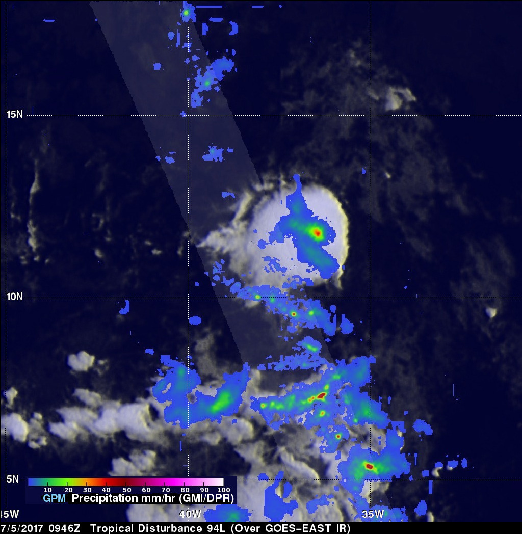 GPM Sees Possible Tropical Cyclone Forming