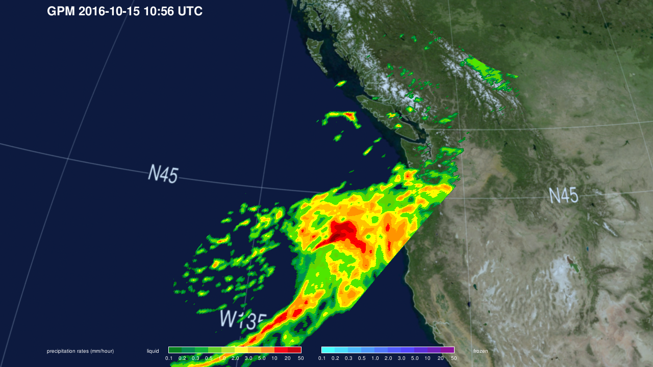 NASA Looks at Rainfall in Remnants of Songda Over Pacific NW