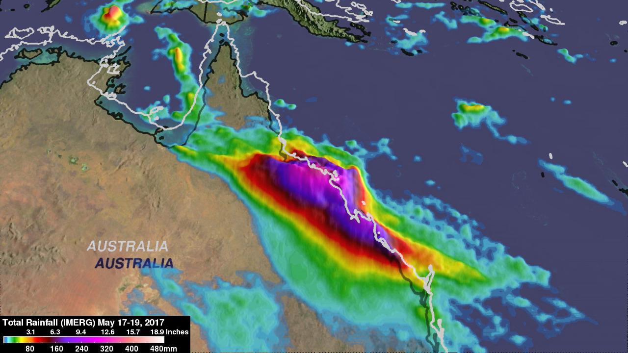 IMERG Sees Record Australia Rainfall