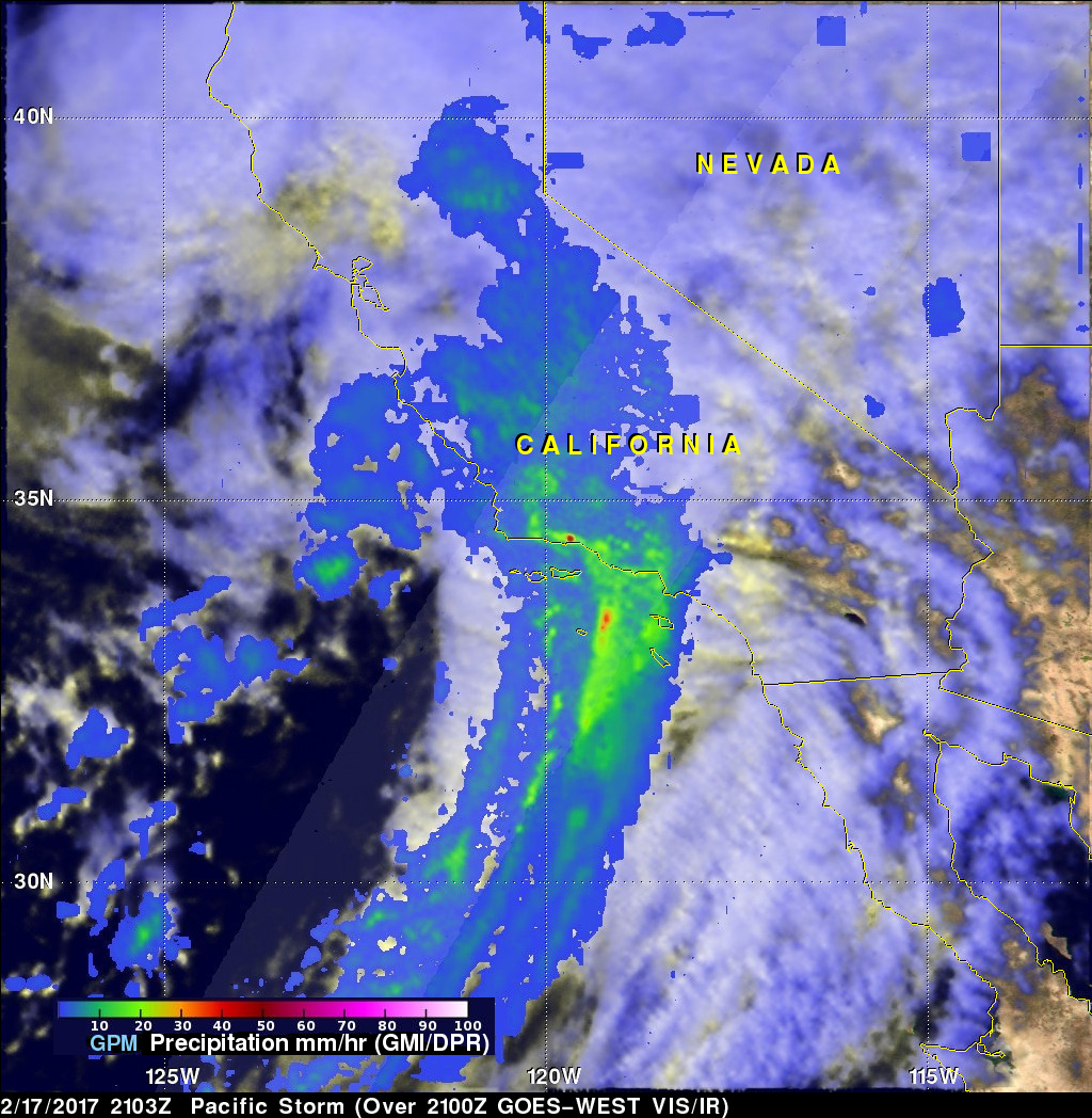 Another Pineapple Express Brings More Rain, Flooding to California