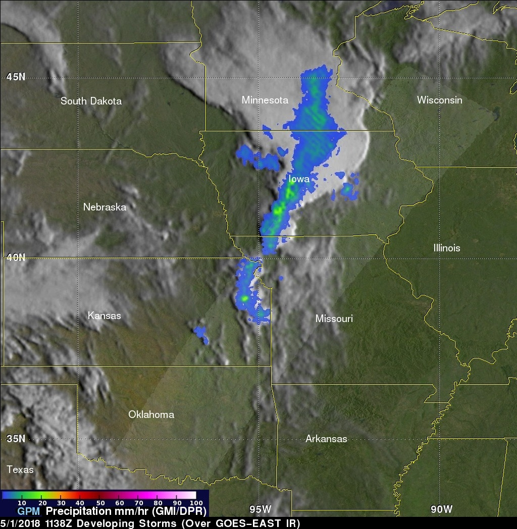 Developing Severe Weather Examined By GPM