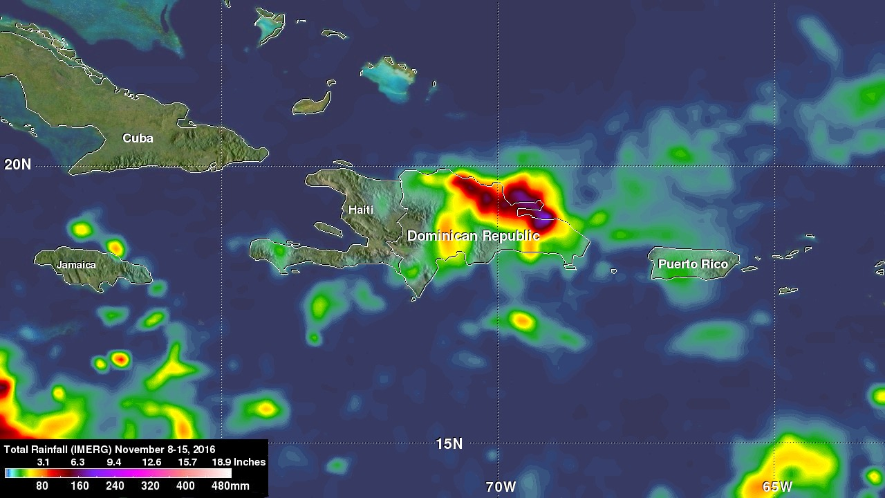 Deadly Tropical Rainfall Examined by IMERG