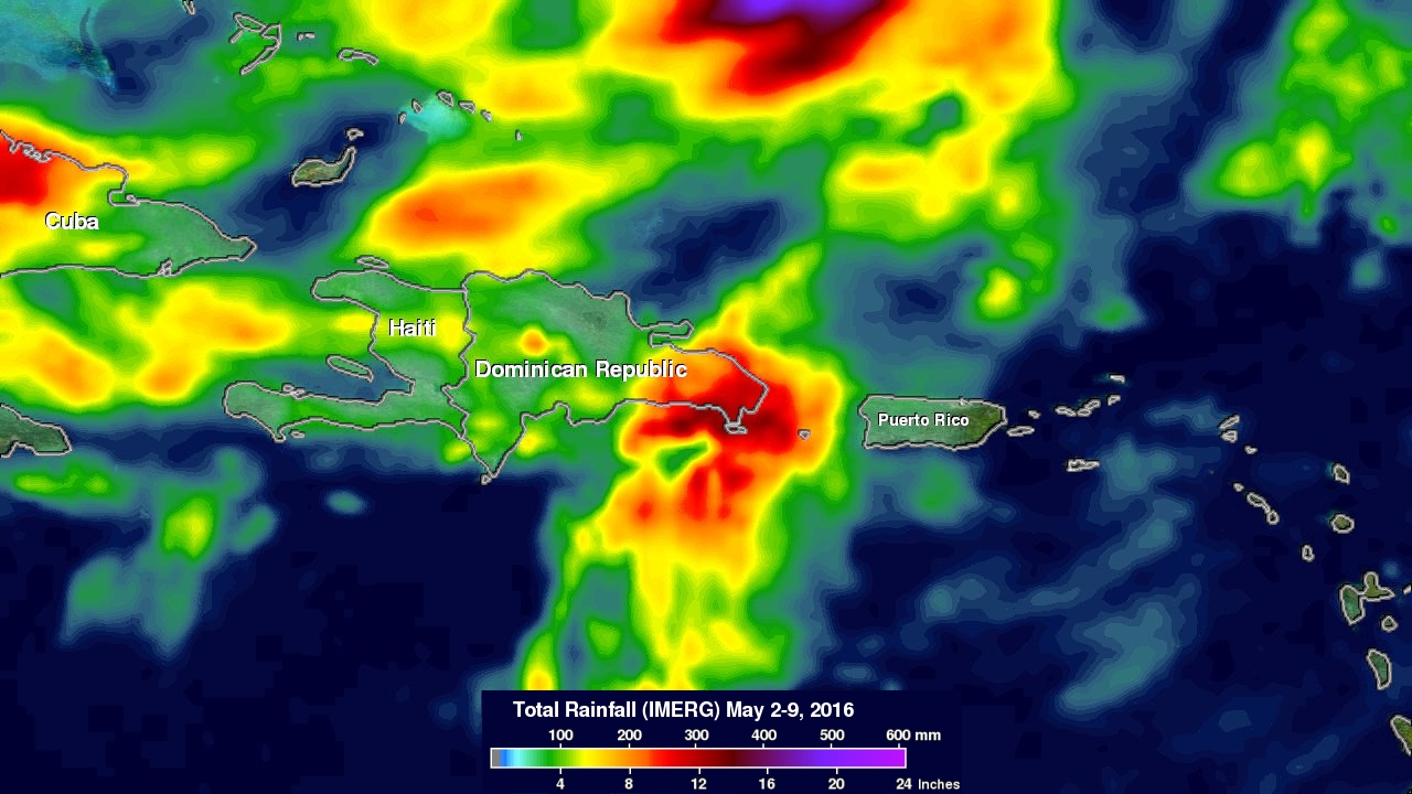 GPM Measures Deadly Flooding Rainfall