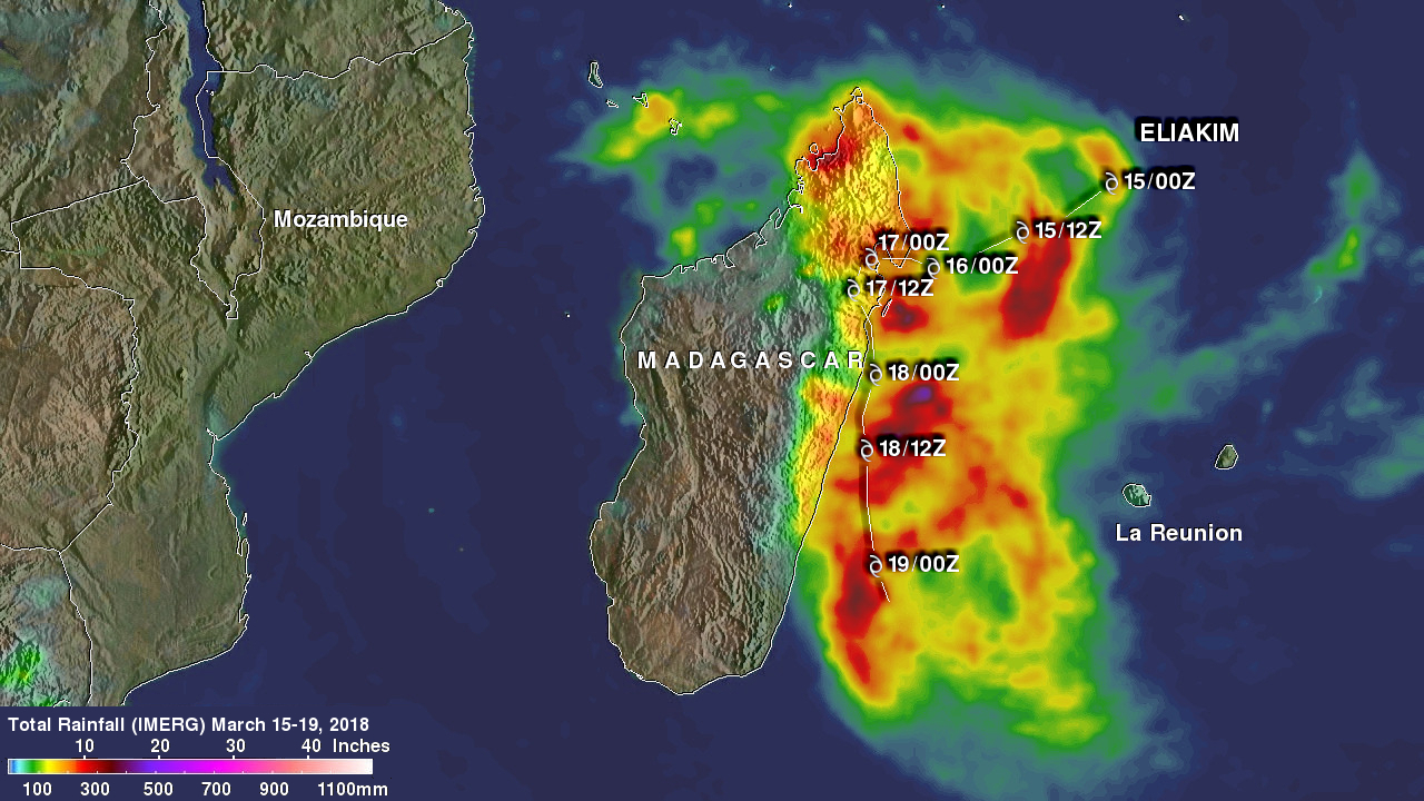 Tropical Cyclone Eliakim's Deadly Rainfall