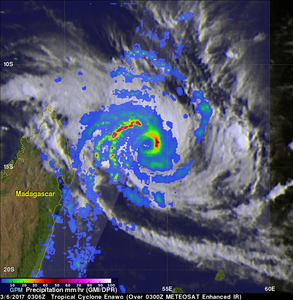 Powerful Tropical Cyclone Enawo Threatens Madagascar