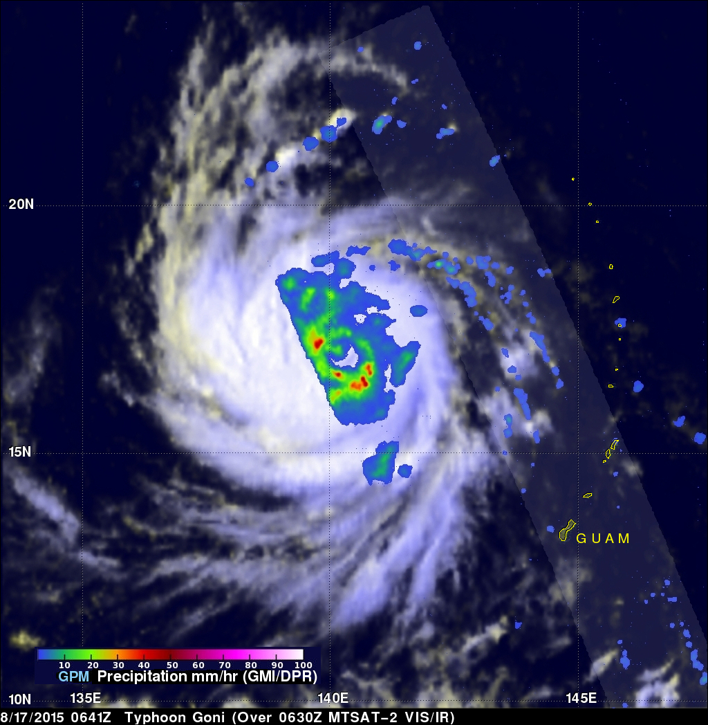GPM Sees New Typhoon
