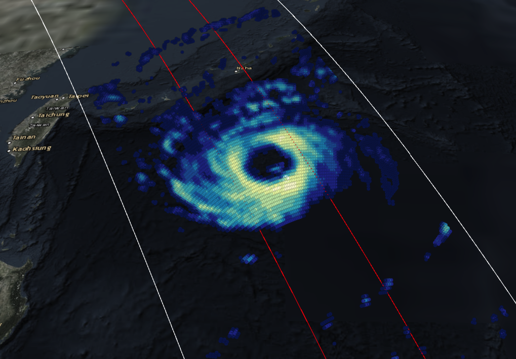 GPM Views Typhoon Trami