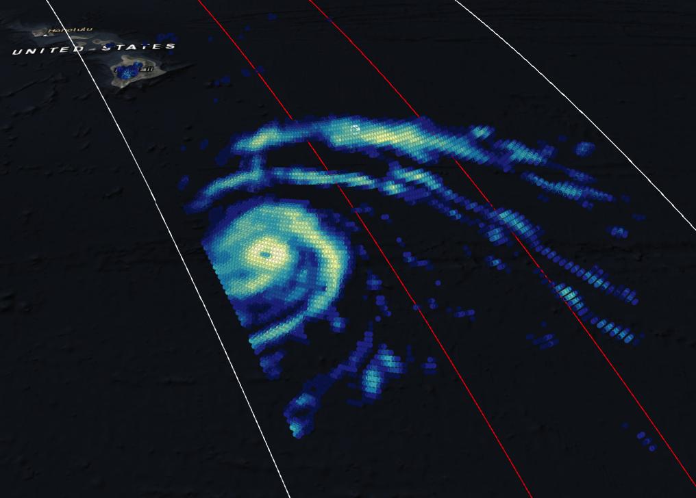 GPM Views Hurricane Lane Approaching Hawaii