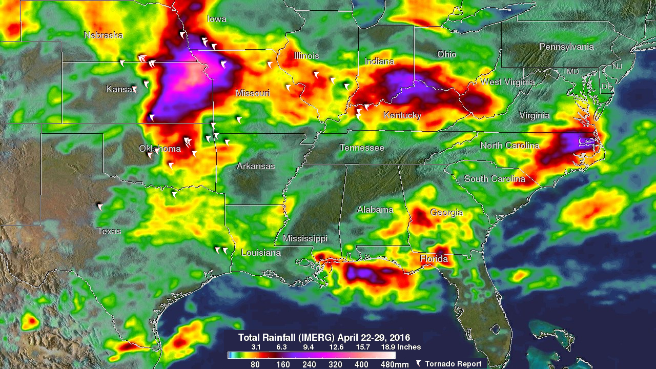Severe Weather In Tornado Alley And Eastward