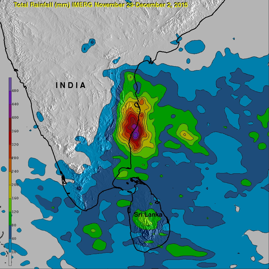 Southern India's Catastrophic Flooding Analyzed By IMERG