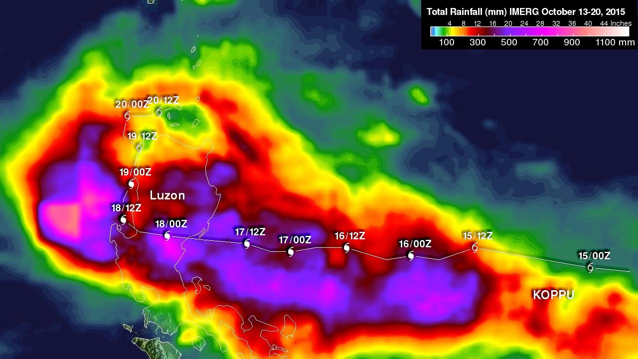 Typhoon Koppu's Deadly Philippine Rainfall