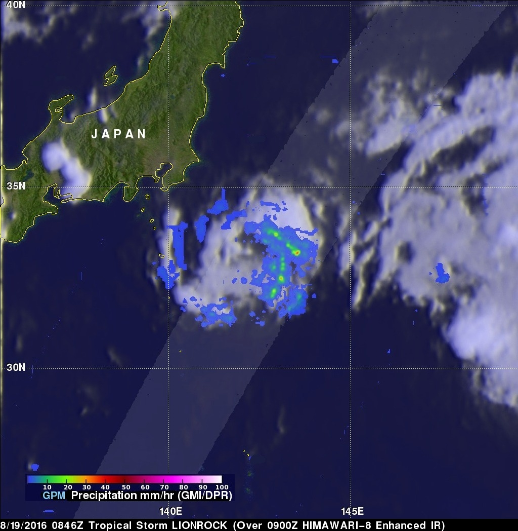 Increased Western Pacific Tropical Cyclone Activity Seen By GPM