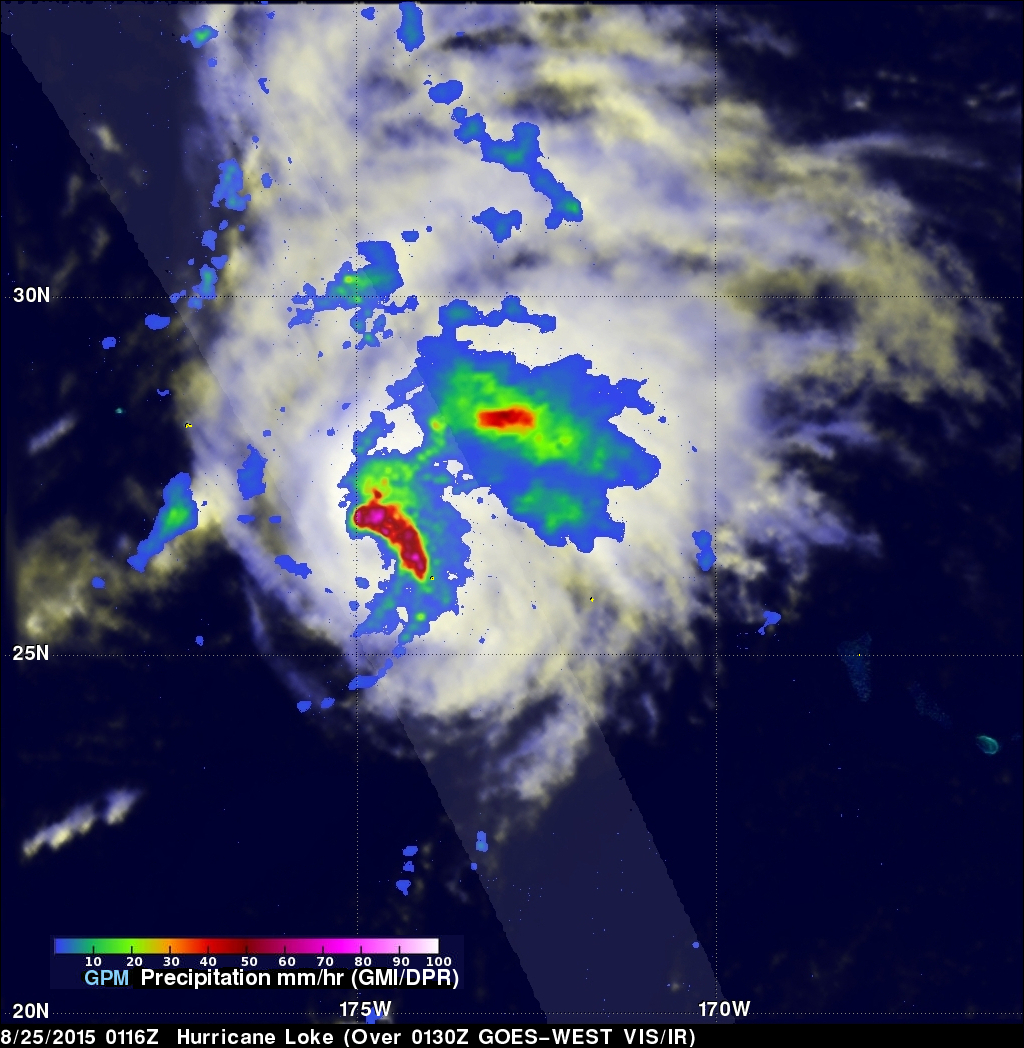 Hurricane Loke Viewed By GPM