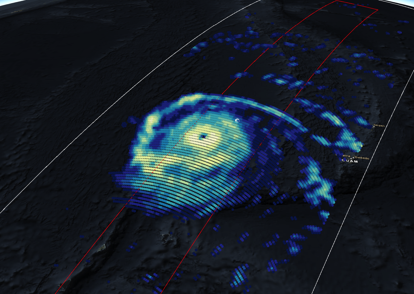 GPM Views Super Typhoon Mangkhut Moving Towards the Coast of China
