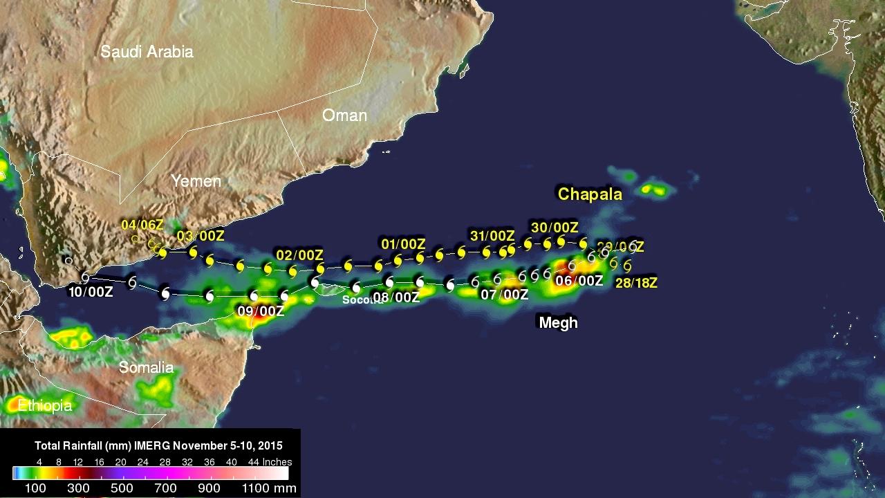 Yemen Hit by 2nd Tropical Cyclone in a Week