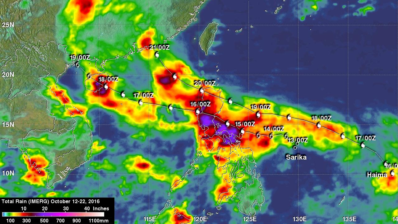 Typhoon Haima Hits China After Devastating The Northern Philippines
