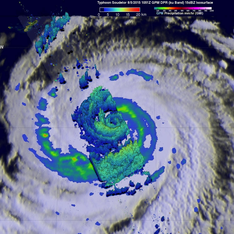 Typhoon Soudelor Threatens Taiwan And China
