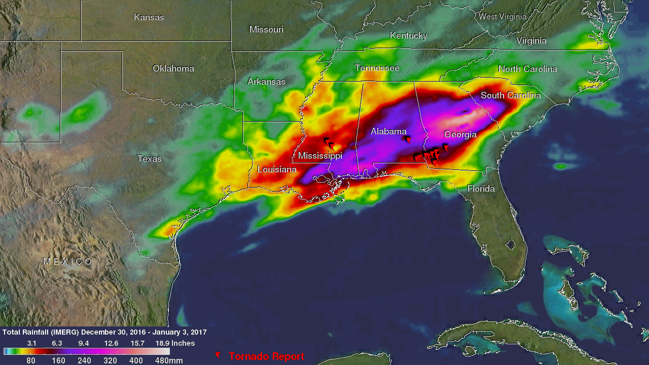 Deadly Tornadoes & Flooding Hits The Southeast