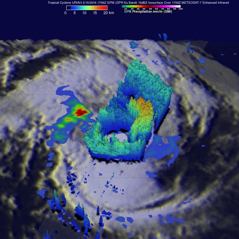 GPM Examines Tropical Cyclone Uriah