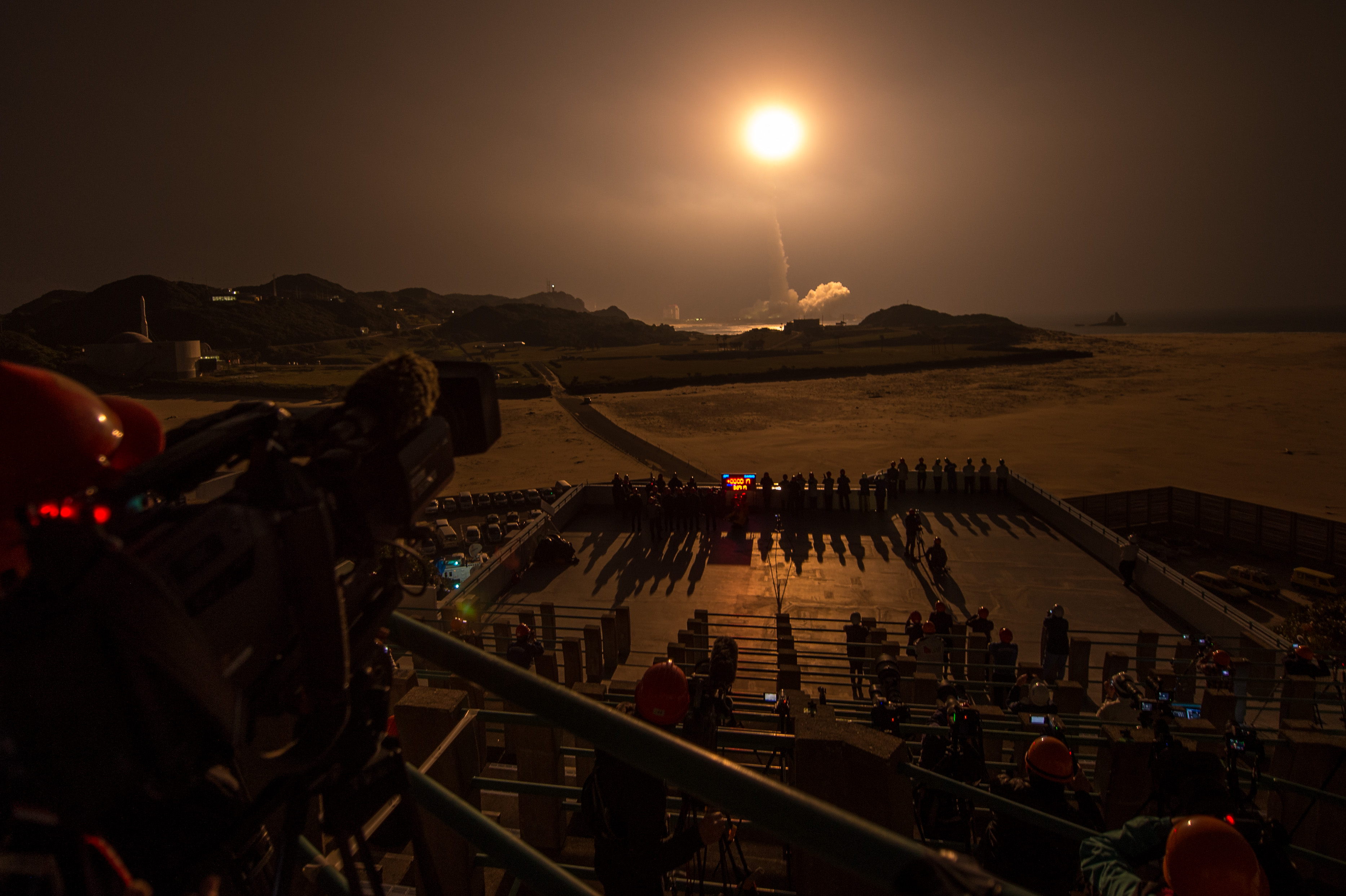 GPM Launches from Tanegashima Space Center