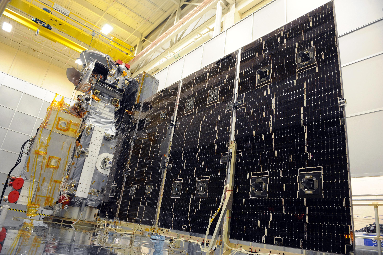 Deployment Test Of Gpm Solar Wings Precipitation