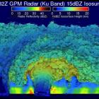 GPM Core Observatory Sees Hagupit's Eye