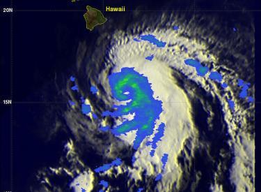 Ana Threatens Hawaiian Islands