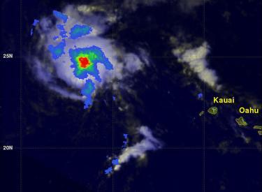 Tropical Storm Ana Still Vigorous