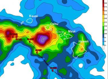 Hurricane Ana Bypasses But Soaks Hawaiian Islands