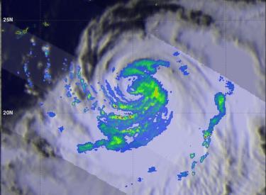 A Weaker Typhoon Halong Moves Toward Japan