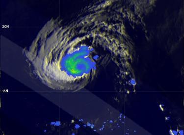 Iselle Moves Toward Hawaii
