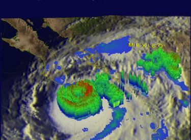 Hurricane Odile Strikes Baja California