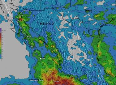 Hurricane Odile Rainfall Totals