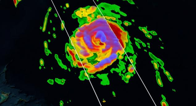 GPM Flies Over Hurricane Gonzalo