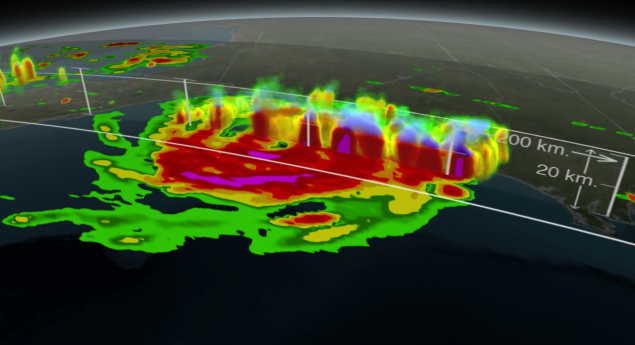 GPM Satellite Sees First Atlantic Hurricane