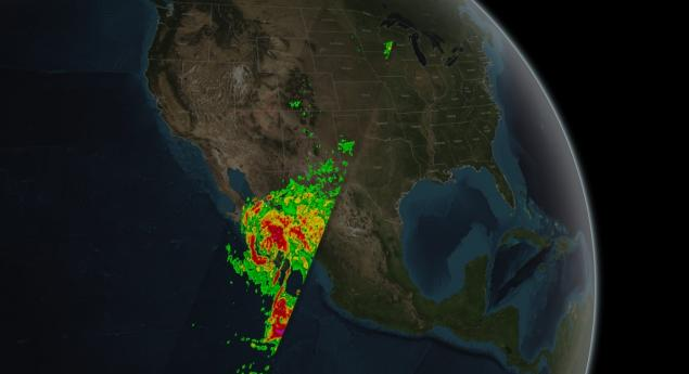 GPM Captures Hurricane Odile