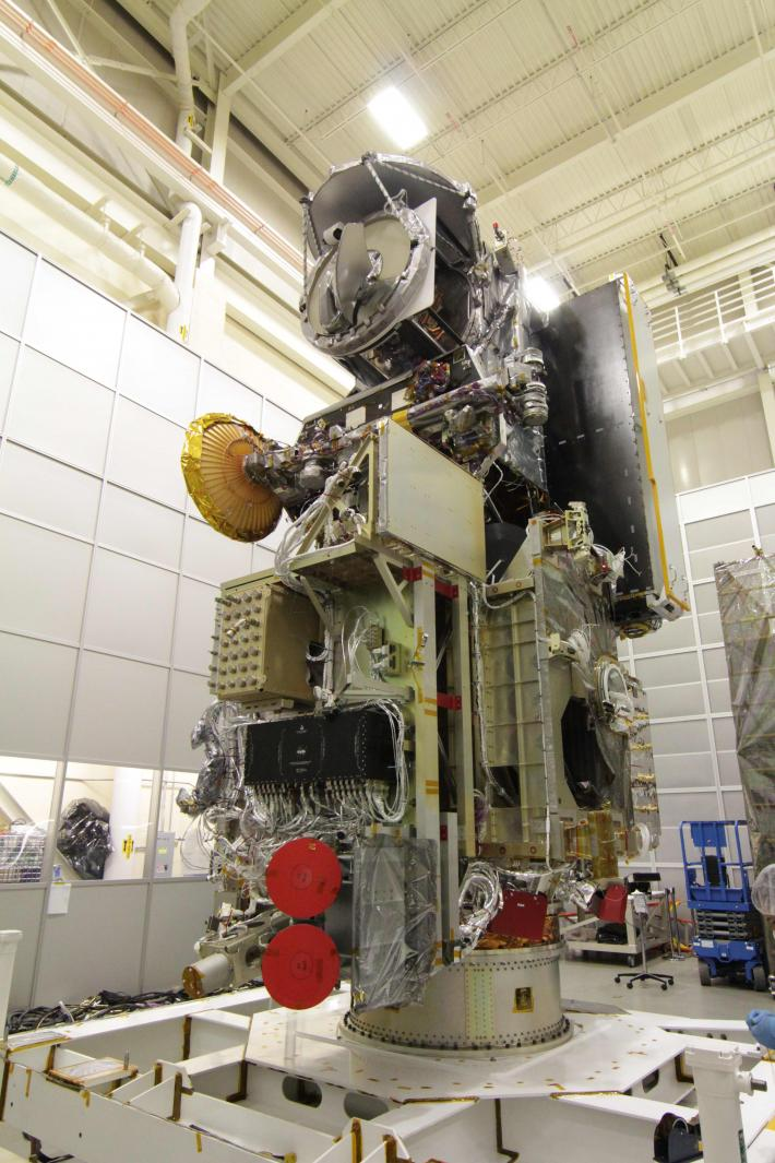 The GMI on integrated on the GPM Core Observatory